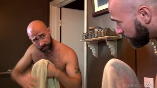 Preview 1 of MenOver30 After Shower Assfucking