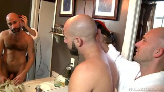 Preview 2 of MenOver30 After Shower Assfucking