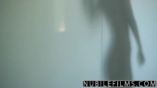 Preview 1 of NubileFilms - Sensual Fuck With Round Ass Babe