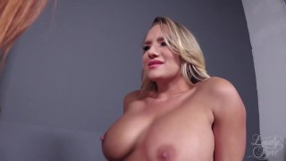 Cali Carter: Sexecutrix by Lady Fyre Femdom softcore redhead breath-play femdom face-sitting executrix kink blonde fucking big-boobs cali-carter lady-fyre threesome ass-smothering facesitting laz-fyre femme-fatale