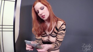 Cali Carter: Sexecutrix by Lady Fyre Femdom  breath play lady fyre face sitting cali carter facesitting redhead femdom blonde fucking kink threesome laz fyre big boobs executrix femme fatale ass smothering