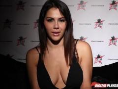 DP Star 3 - Big Natural Tits Italian Valentina Nappi Deep Throat Blowjob