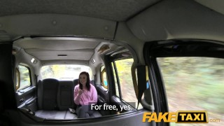 Preview 5 of FakeTaxi Petite American redhead does anal