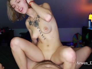 Arwen Sucks and Rides Cock