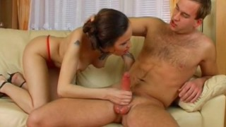 Czech Brother Punishes Teen Sister