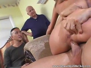 Husband Watches Wife Fuck A Stranger