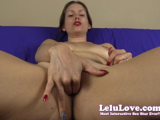 POV fingering my pussy for you with jerkoff instruction til we cum