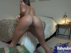 Rahyndee James webcam cum show solo