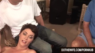 Hot wife extra fat black dick  hardcore milf brunette housewife creampie cuckold couple wife dothewife