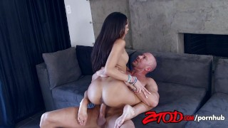 Young Chloe Amour Fucked Hard  doggy style big cock riding babe ztod blowjob cumshot 69 hardcore cock sucking brunette cowgirl latina facial pussy eating natural tits