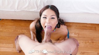 Tiny4K - Asian hottie Samantha Parker dildos her pussy before fuck dildo samantha-parker hardcore masturbation asian blowjob huge-cock shaved tight sex-toys oral-sex 4k big-dick sexy-asian tiny4k 60fps