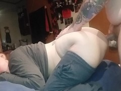Brunette Wife Gets Fucked in the Ass