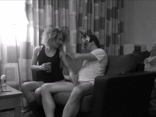 Oxana Tasev eats ArtistPassionAnal's dick after a walk in the woods