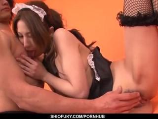 Tsubasa Aihara enjoys amazing pleasure during hardcore