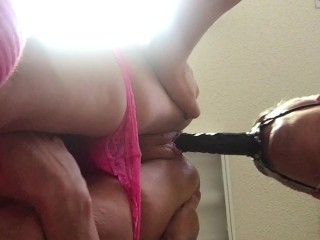 Daddy Fucks Babygirl with Double-headed Dildo - part 2