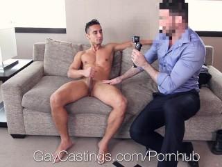 GayCastings - David Mazano Banged By Creepy Agent
