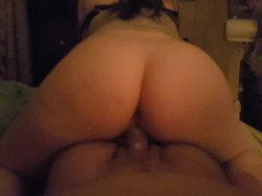 CUMMING ON HIS DICK WHILE HE CUMS IN ME