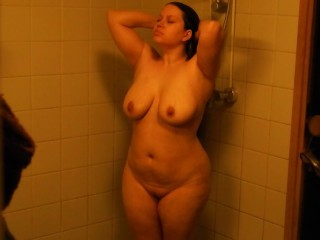 Fucking in the shower with whife! Cum to face! (little fog on the lence)