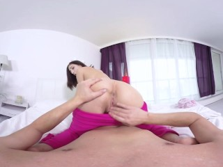 TmwVRnet.com - Milana Lawrence - Cum on round butt