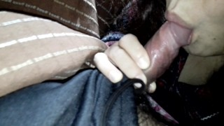 Married wife blowjob ①