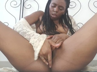 TRAILER: Cumming Hard in my Lace Kimono