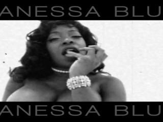 Vanessa Blue Classic Corset Teaser