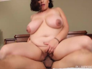 Busty Curvy Lonely Wife Invites Friend to Fuck