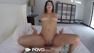 POVD - Gorgeous Leah Gotti fucked and facialed after shower shower hardcore blowjob leah-gotti babe big-cock pornstar natural-tits big-tits cock-sucking pov brunette povd hd point-of-view busty
