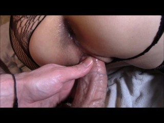 Wet & Juicy Pussy and Ass Fucking