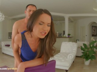 Nataly Gold in Ass Traffic scene getting her ass drilled