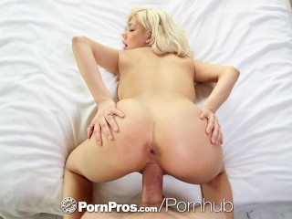 PornPros - Exotic blonde Valentina Paradis aches for pussy pounding