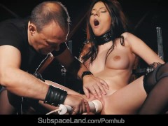 Hardcore cunt domination for submissive Rebecca Volpetti