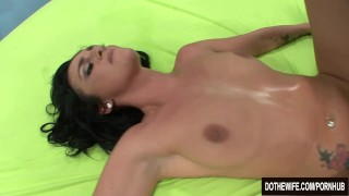 Brunette wife takes cock in front of her husband  hardcore housewife cum-in-mouth cuckold pussy-licking lexi-ward cumshot couple wife dothewife blowjob pornstar