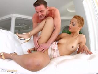 African girl Halona Vog deep anal hardcore gonzo scene by Ass Traffic