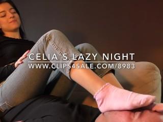 Celia's Lazy Night - www.c4s.com/8983/16827630