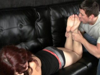 Molly Zeppa foot worship 2