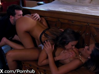 EroticaX Teens Sensual 3Some with James Deen