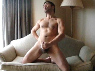 Cum in Hotel Room