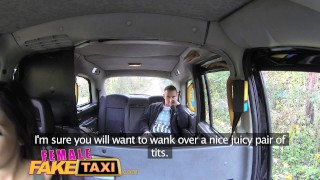 Female Fake Taxi Guy gets lucky with hot brunette  british oral blowjob amateur hot huge-cock public camera spycam car brunette reality butt dogging femalefaketaxi taxi