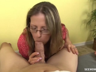 Hot milf cock sucking