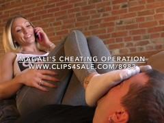 Magali's Cheating Operation - www.c4s.com/8983/16842842