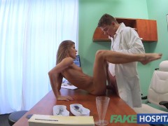 Fake Hospital Doctor fucks patients tight pussy to cure his hangover
