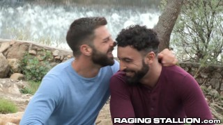RagingStallion Hot Latino and Arab Passionate Fucking