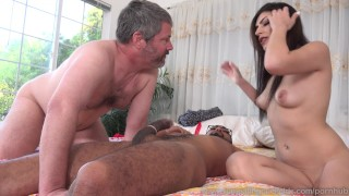 Audrey Royal and Husband Love Big Black Cock Inside Her  big cock masturbation wife husband bi interracial brunette bull 3some hottie drilled cum eating natural tits footfetishdaily