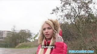 Public Agent Beautiful blonde fucks on backseat  outdoors outside amateur blonde cumshot public pov real reality publicagent shaved tight orgasm alexis bardot