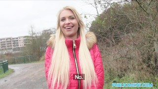 Public Agent Beautiful blonde fucks on backseat  outdoors outside sex-for-cash amateur blonde cumshot public pov real sex-for-money reality publicagent sex-with-stranger alexis bardot