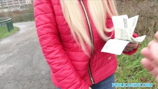 Public Agent Beautiful blonde fucks on backseat  outdoors outside point-of-view sex-for-cash amateur blonde cumshot public pov real sex-for-money reality publicagent sex-with-stranger alexis bardot