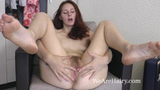 Ariadna Moon gets home and masturbates right away