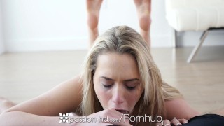 PASSION HD Real life couple Mia Malkova and Danny Mountain fuck danny mountain creampie hardcore big-dick sex mia malkova blowjob blonde passion hd hd