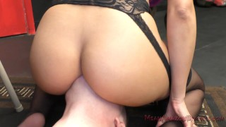 Mercedes Carrera Facesitting & Ass Worship Femdom  ass worship big tits face sitting asslicking facesitting femdom mom meanbitches kink butt latina mother assworship latin faceriding big booty latina fake tits mercedes carrera
